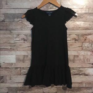 Ralph Lauren little girls black dress size 6